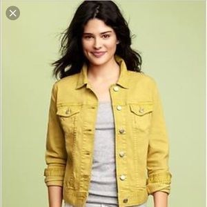 Yellow Jean Jacket